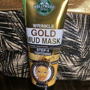 Other - Wrinkle gold mud mask.